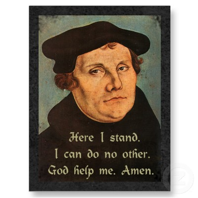 luther's dissertation